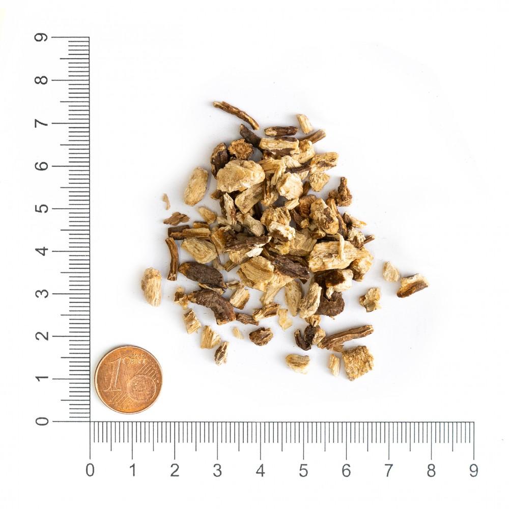 Krauterie Angelikawurzel geschnitten 1 kg Verpackung