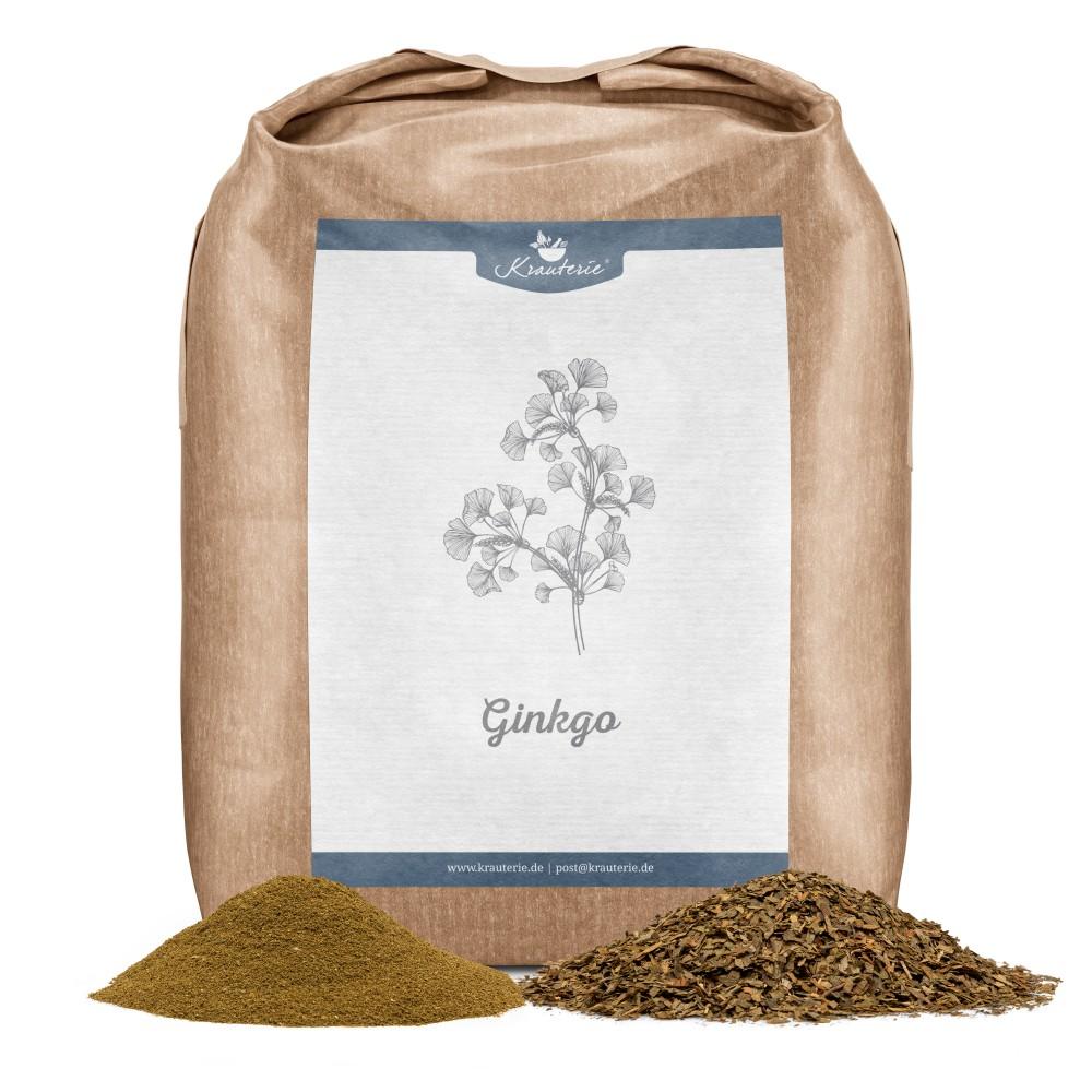 Krauterie Ginkgo 1 kg Verpackung