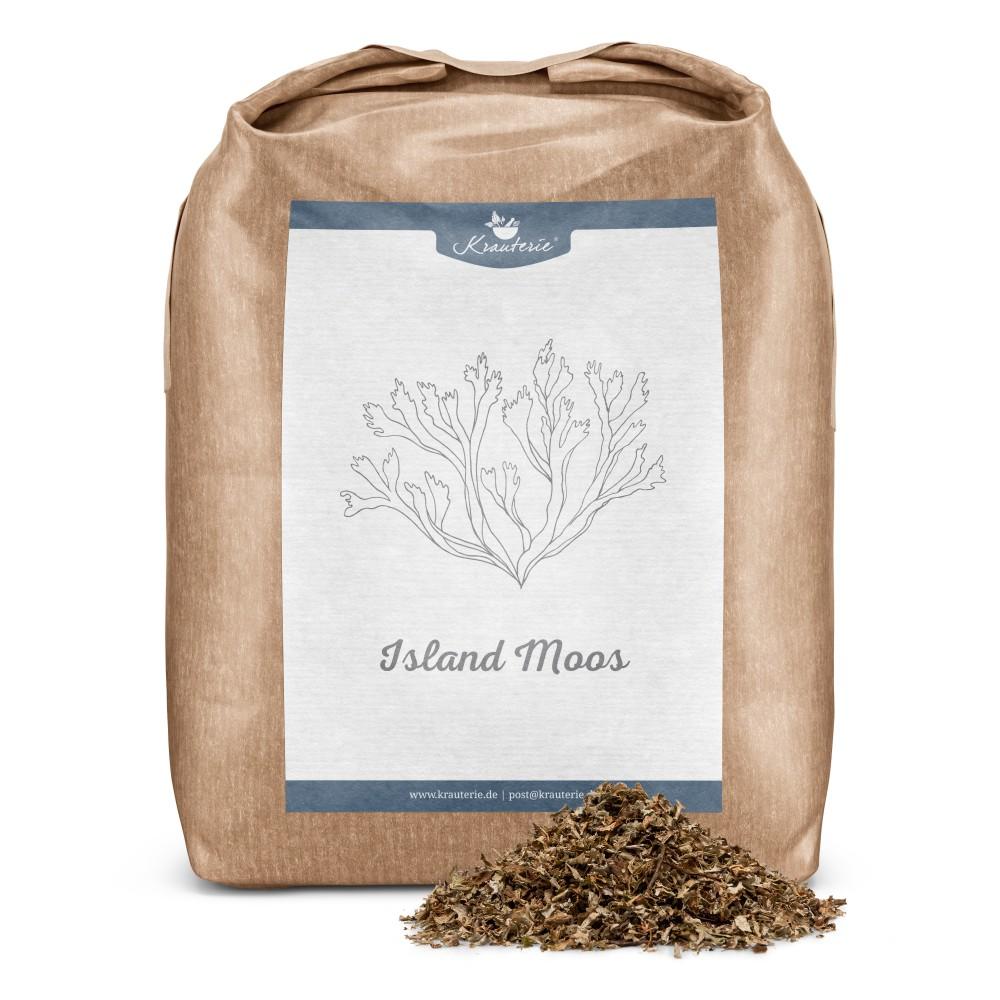 Krauterie Island Moos 1 kg Verpackung