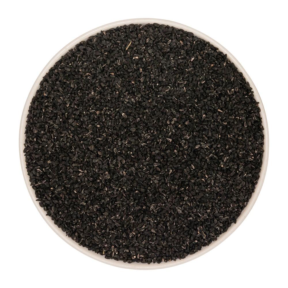 Krauterie ganze Schwarzkümmelsamen (Nigella sativa) Detail